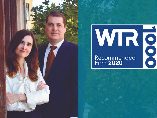 Ranked by WTR in Top Trademark Professionals 2021 list