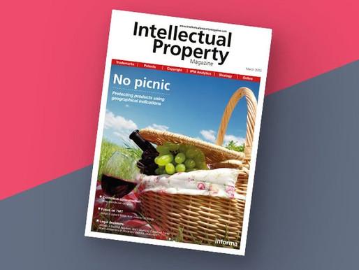 We Write on GI's for IP Magazine