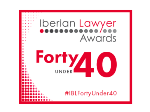 Somos Finalistas de los Iberian Lawyer Forty Under 40