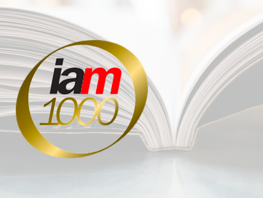 We're listed on IAM Patent 1000