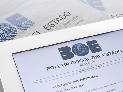 Covid-19: Spain and EU Deadline Suspension
