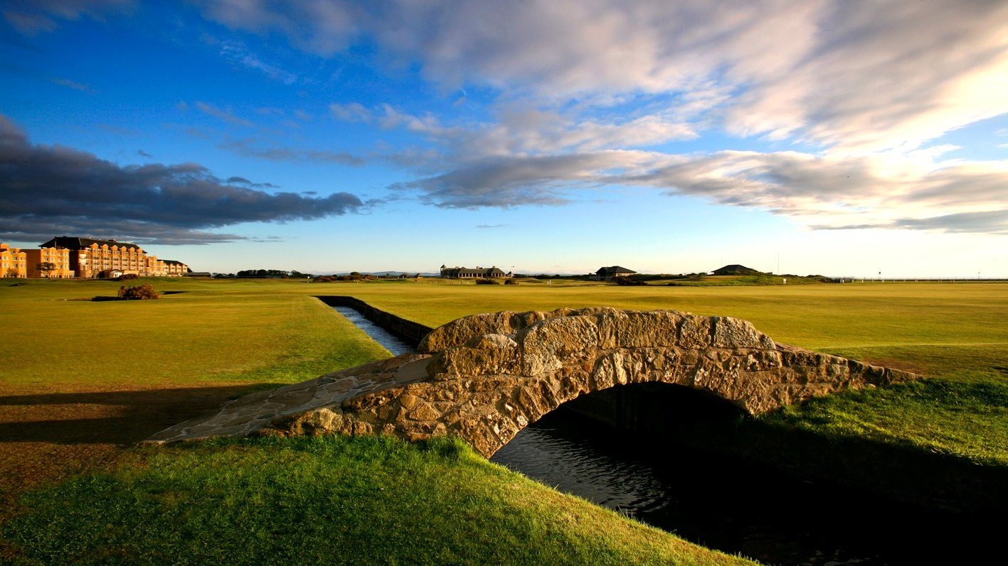 Old Course Swilcan Bridge