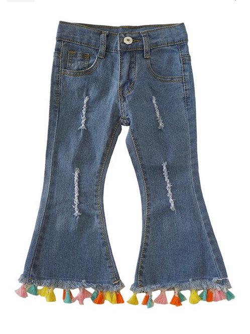Multi Tassel Jeans