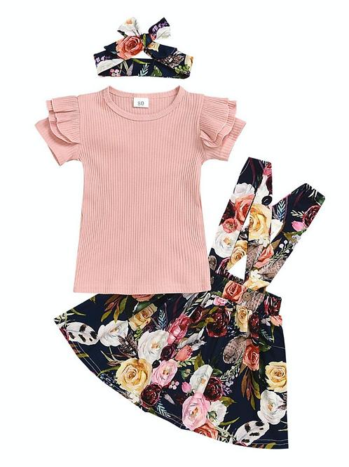 3 Piece Floral Set