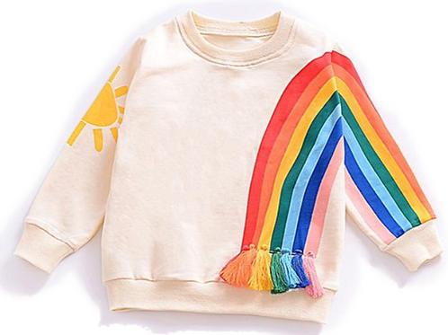 Sunshine Tassel Sweatshirt