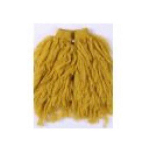 Mustard Shaggy Vest