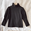Thumbnail: Black Knit Puff Sleeve