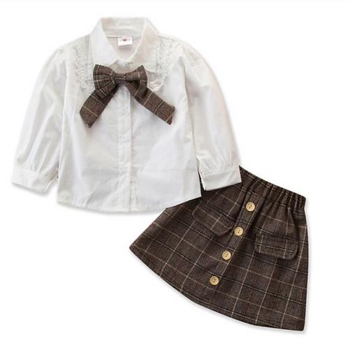 PreppyTwo Piece Skirt Set