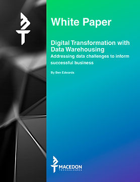 Digital Transformation with Data Warehousing