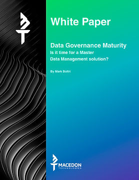 Data Governance Maturity