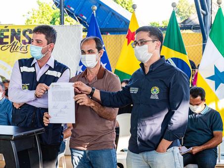 Prefeitura e Governo do Estado firmam parceria pelo Parque Coração Verde