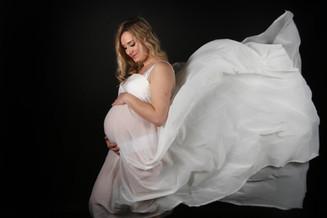 Voile pour photo de grossesse