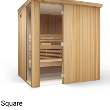Kit Set Sauna