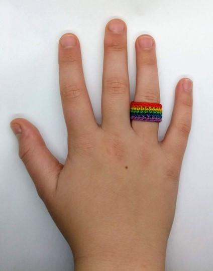 Rainbow Ring Pattern