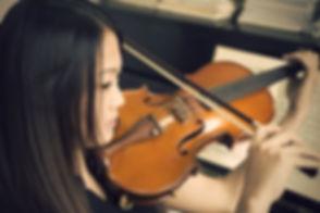 private violin lesson