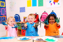group art classes for young children aged 4 to 7