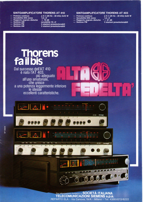 Thorens receiver