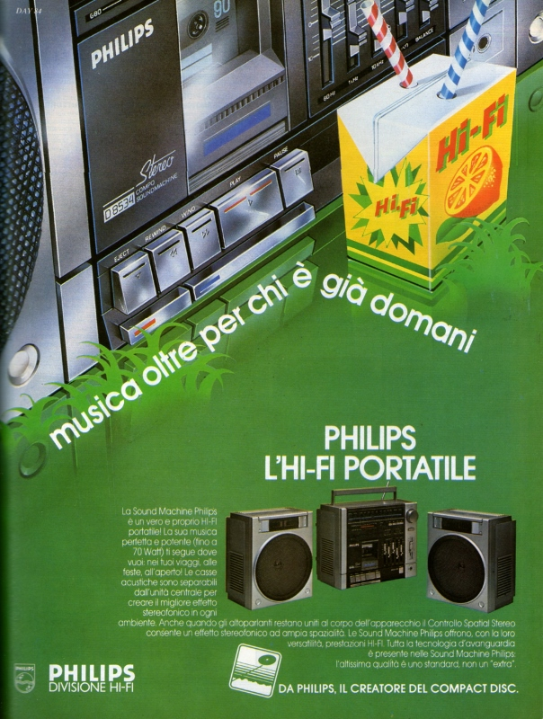 Philips HiFi portable