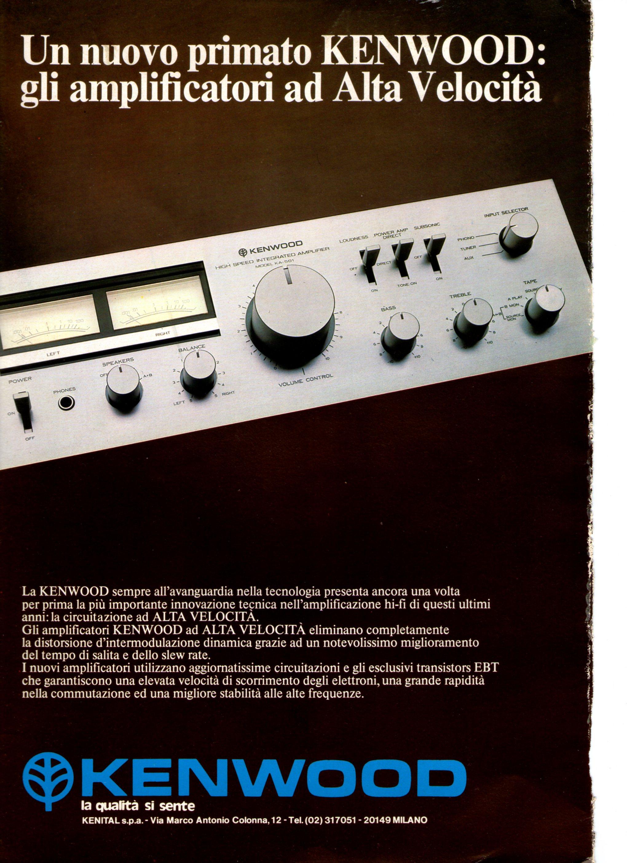 Kenwood amplificatori