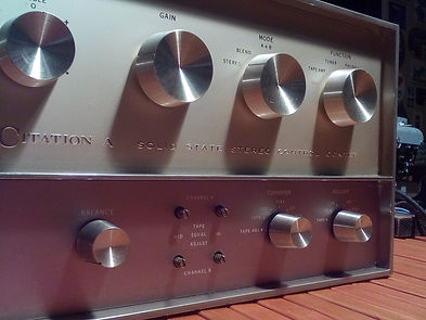 Harman Kardon Citation A preamplifier