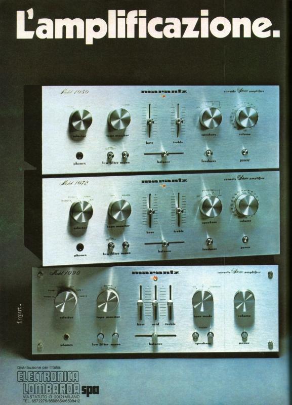 Marantz integrated amplifier