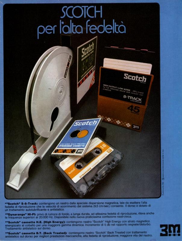 Scotch audio tape