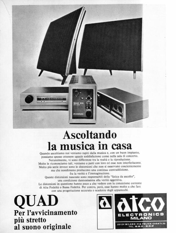 QUAD audio system