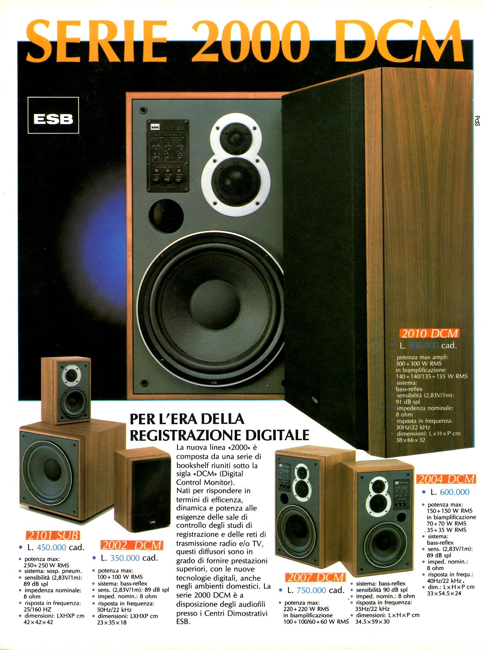ESB DCM series