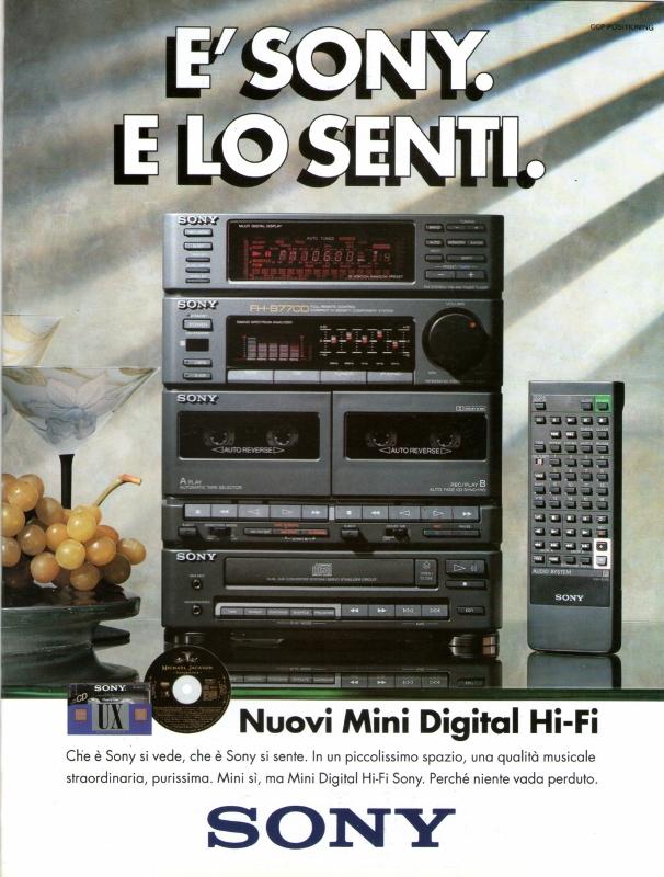 Sony mini HiFi
