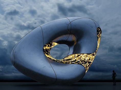 RE.Sole'den İki Yeni Dijital Heykel: Seeing & Hearing