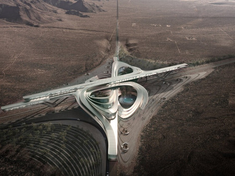 Hyperloop Desert Campus Geleceği Şekillendiriyor