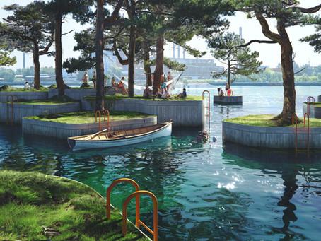 Mutlu İnsanlar Şehri Kopenhag'ın Yeni Park-Adaları