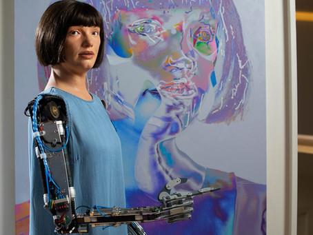Otoportresini Çizebilen Sanatçı Robot: Ai-Da
