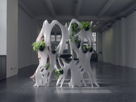 Kendi Kendini Sulayabilen 3D Baskı Duvar