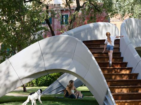 3D Baskılı Beton Köprü Striatus, Venedik Mimarlık Bienali'nde