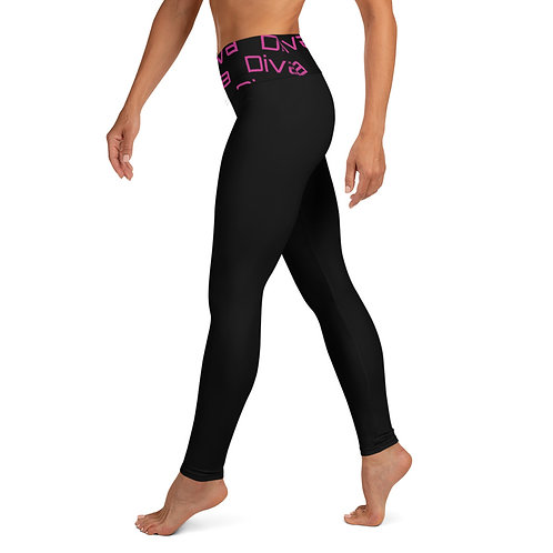 Obsessed with Diva Waistband Legging w/pocket (pink)