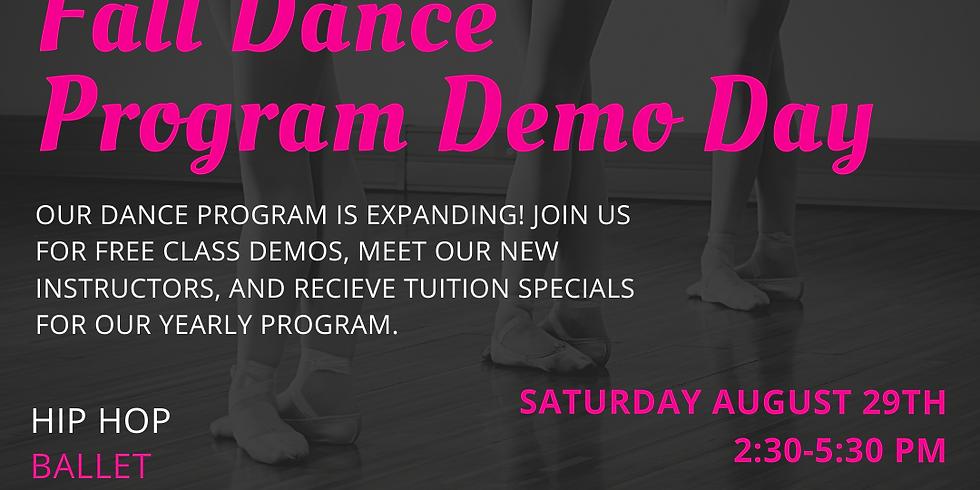 Kids Dance Program Demo Day