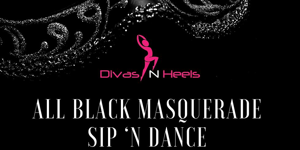 Divas All Black Masquerade Sip 'N Dance