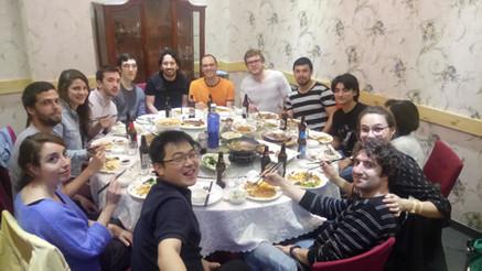 Chinese dinner 10/05/2019