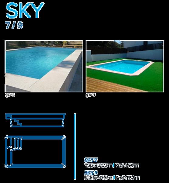 modelo sky