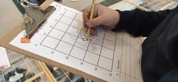 atelier fouilles - dessin