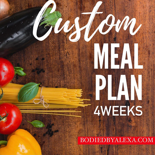 MEAL GUIDE (28 DAYS)