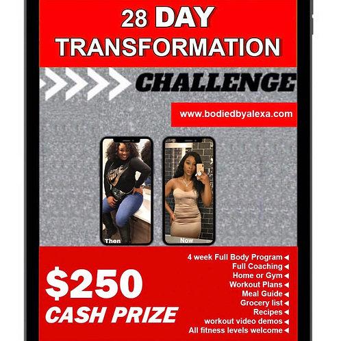 28 DAY TRANSFORMATION