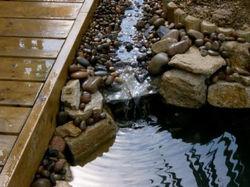 Pond Waterfall Billingshurst