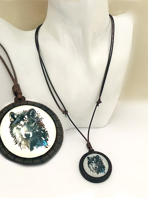Spirit Wolf Extendable Necklace