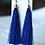 Thumbnail: Gold Cap Tassel Earrings