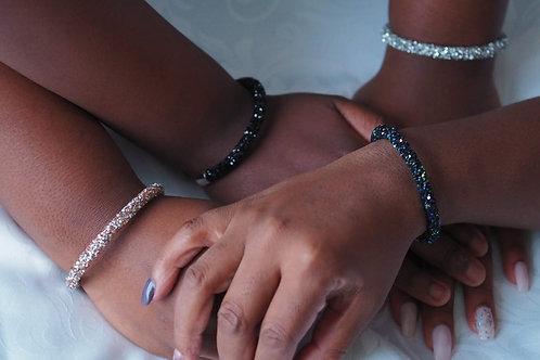 Glittering Glamour Cuff Bracelet