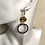 Thumbnail: Wear Your Colours Hoop Drop Earring's