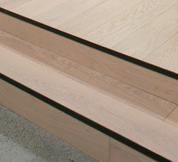 Wooden Stepped Feature