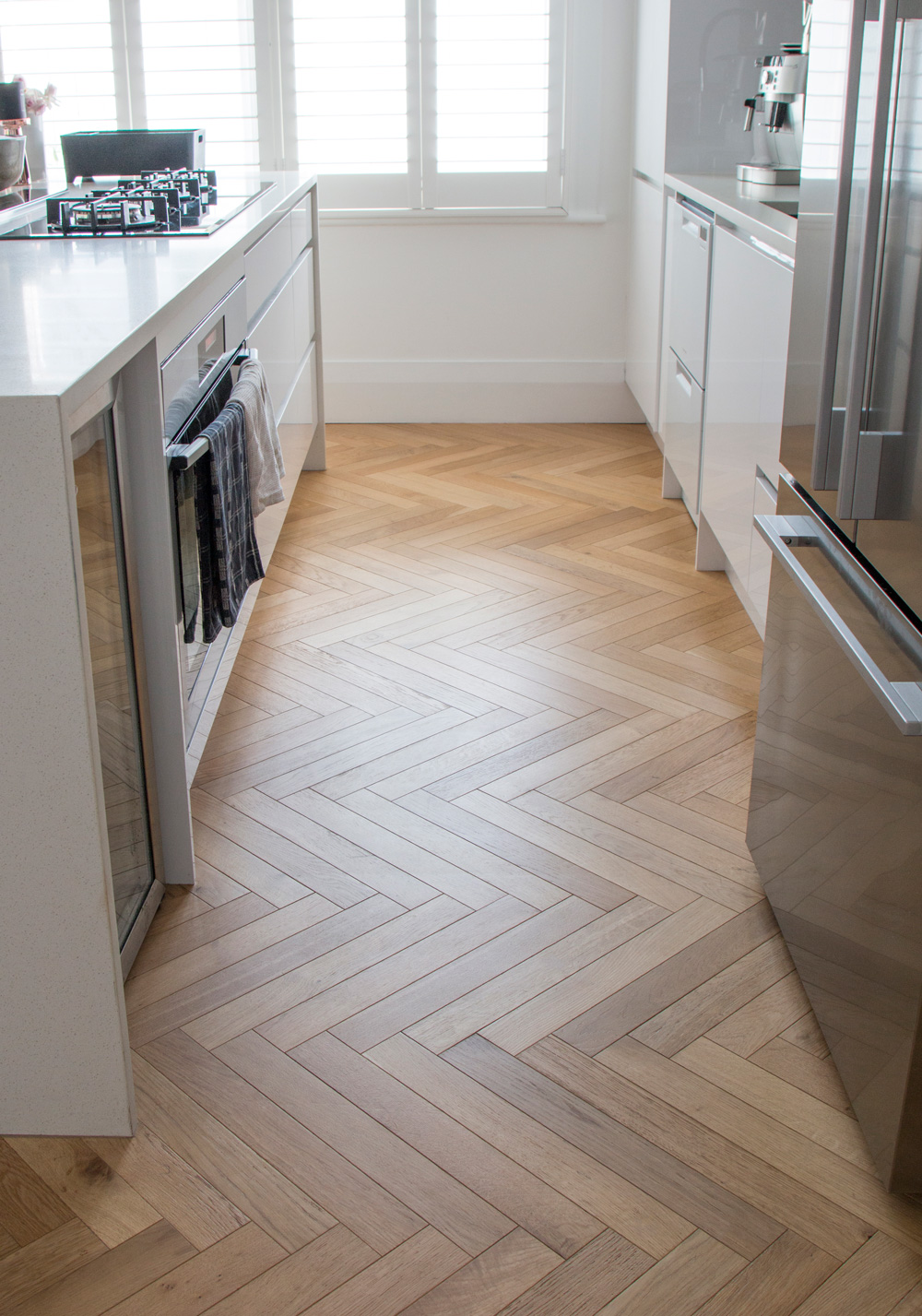 Herringbone Bone pattern Kitchen
